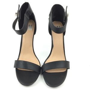 SM Shoes - New SM Heels Size 11 Turnlock Ankle Strap Open Toe